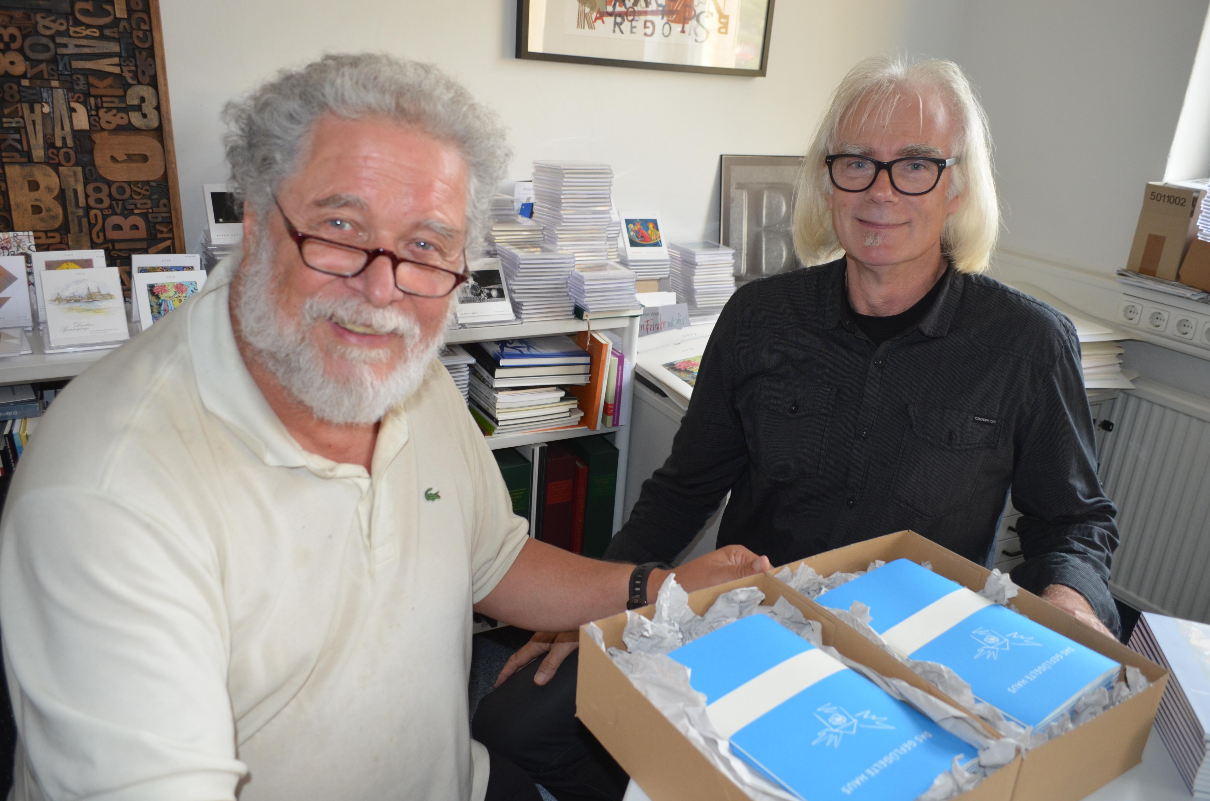 Richard Pietraß (l.) und Manfred Richter