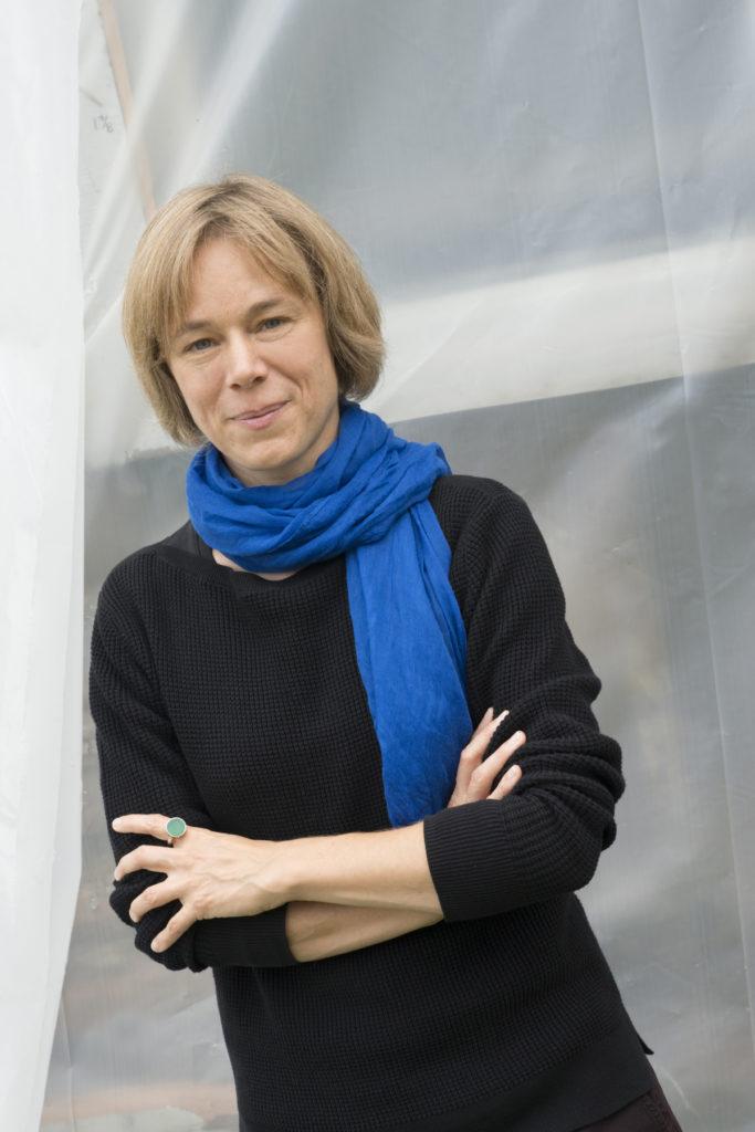 Anja Utler. Foto Tom Langdon